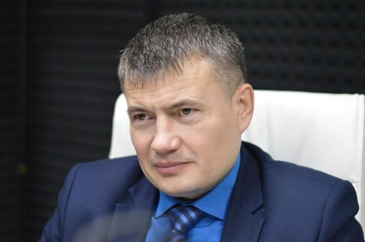 Андрей Стрельников, первый заместитель министра природных ресурсов Хабаровского Края