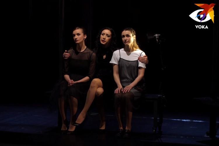 Премьеру спектакля «Профiт» в этом году пришлось давать онлайн, без зрителей в зале, и этот опыт актерам не понравился.