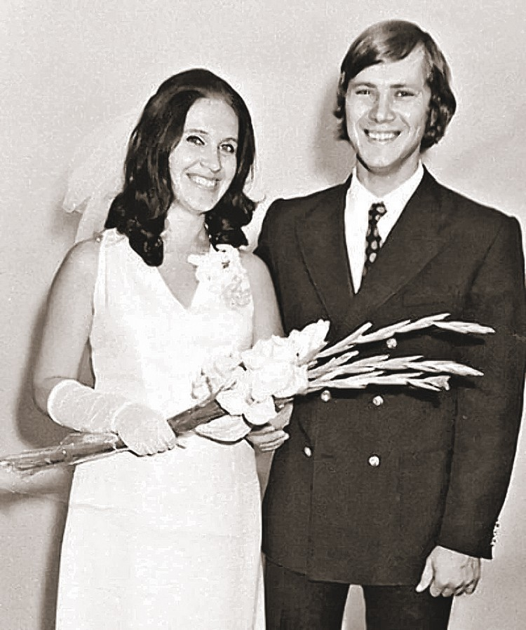 С музыкантом Владимиром Заседателевым Надежда прожила 17 лет. Последние годы их брака были несчастливыми - супруги оставались вместе только ради сына. Фото: Личный архив