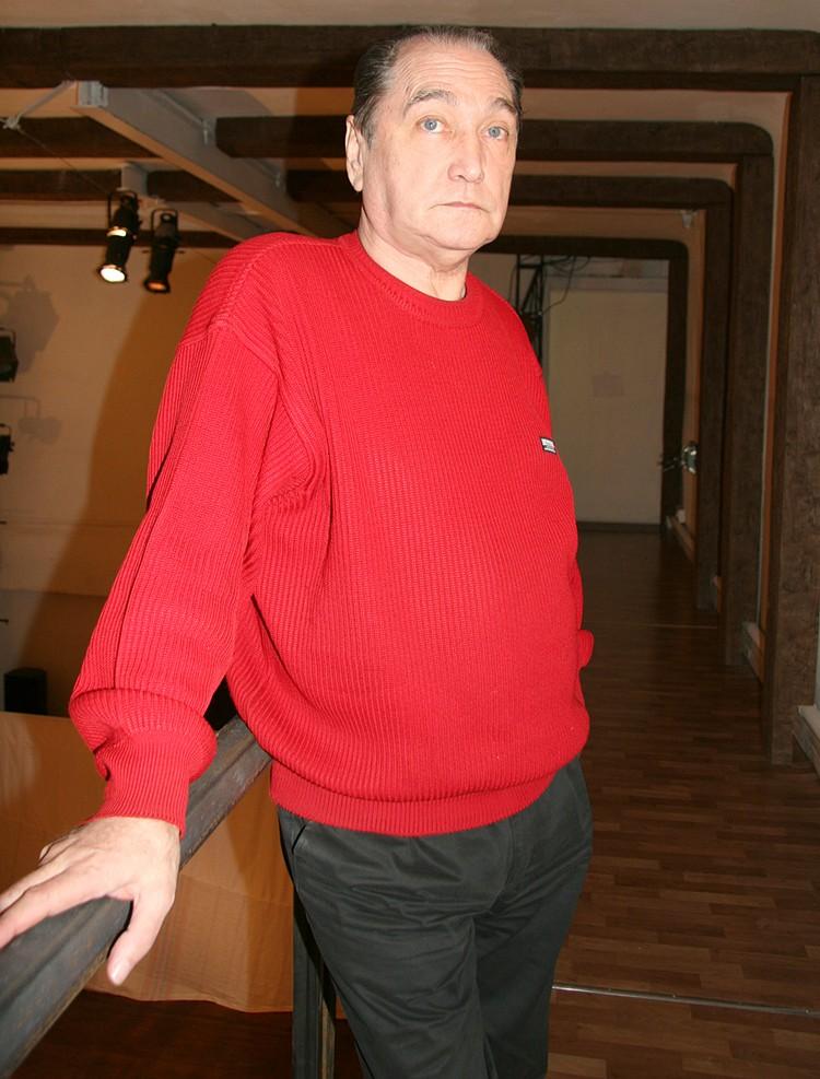 80-летний актер попал в больницу в Коммунарке еще 25 декабря