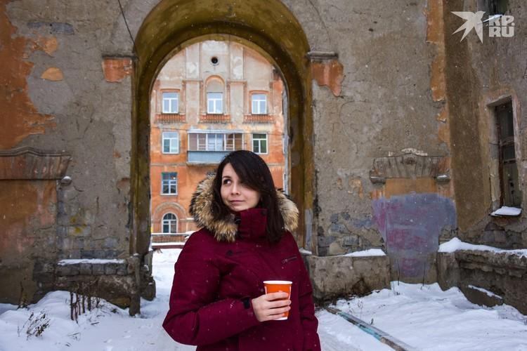 Здесь можно неспешно прогуливаться с кофе в руке и представлять себя где-нибудь в Европе.