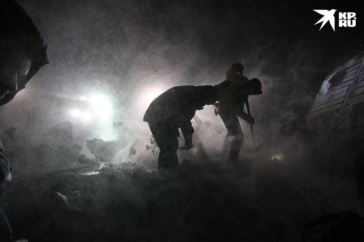 Метель, мороз, темнота. Фото: Ирина Яринская