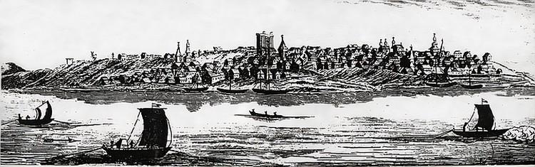 Гравюра по рисунку Джона Кэстли дает новые знания о Самаре. Фото: предоставлено Самарским университетом
