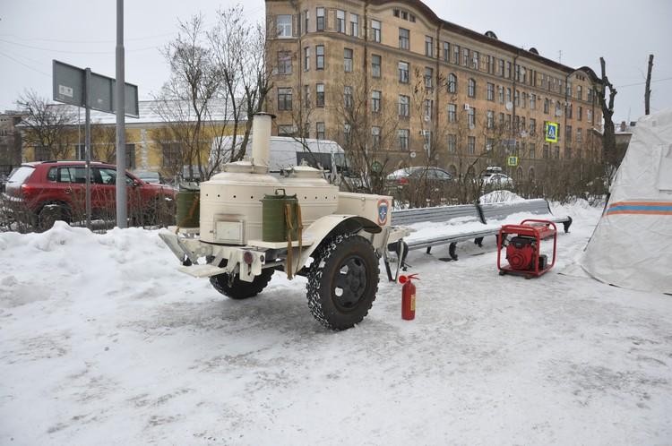 Мониторить дорожную обстановку будут с помощью беспилотников. Фото: пресс-служба МЧС по ЛО