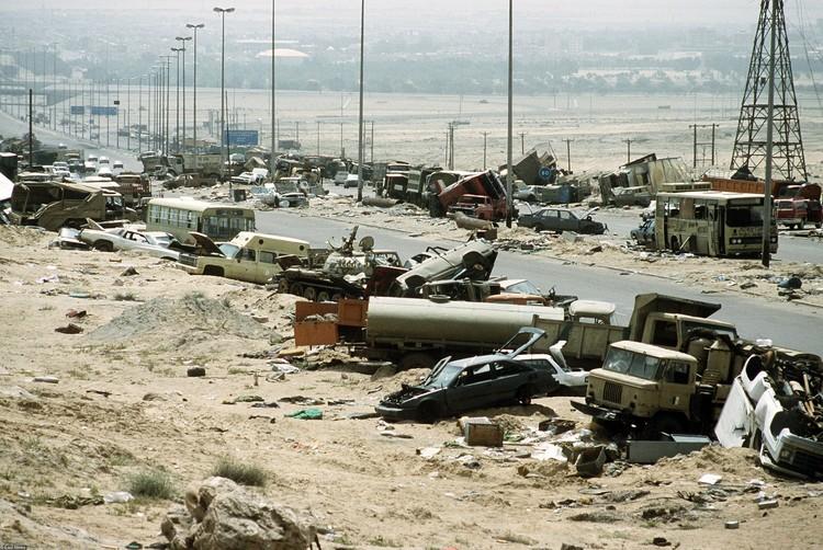 В современной истории эти события известны как война в Персидском заливе.
