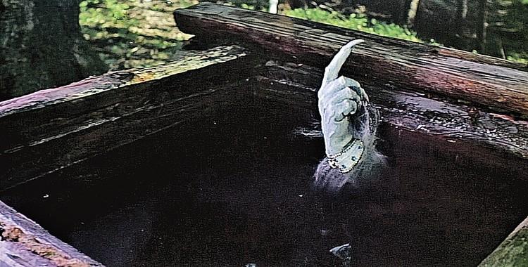 А вот та самая рука, которую «сыграл» Грачевский в фильме «Варвара-краса, длинная коса». Фото: Кадр из фильма