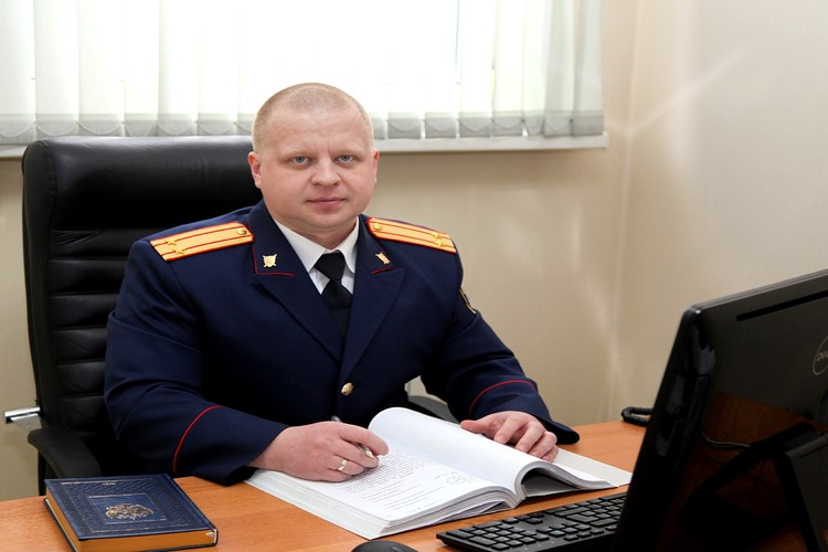 Руководитель отдела по расследованию особо важных дел Восточно-Сибирского СУ СК на транспорте Алексей Матвеев