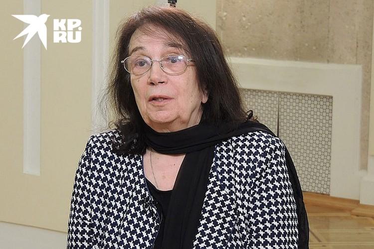 Вдова Алексея Баталова Гитана Аркадьевна.