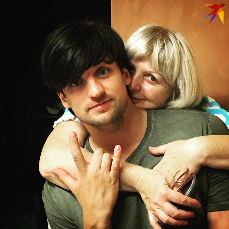 С мамой Татьяной Борисовной. Фото: личный архив