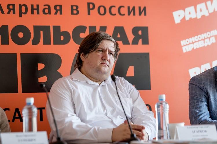 Активист движения «Гражданский патруль» Александр Агарков
