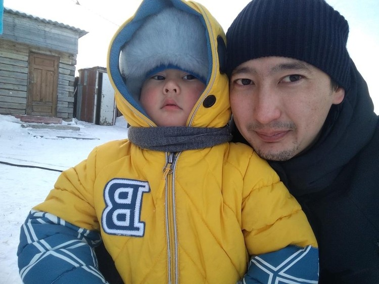 В последний раз отец выдел сына, когда тому было 2 годика.