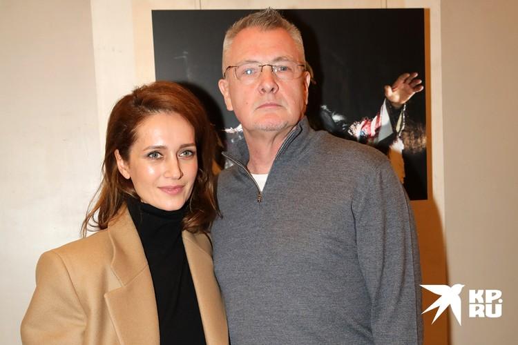 Актриса Виктория Исакова и режиссер Юрий Мороз.