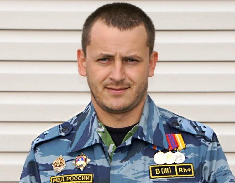 Игорь Муценик погиб во время служебной командировки в Дагестане