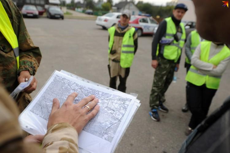 Волонтеры работали в связке с милицией, спасателями и другими структурами
