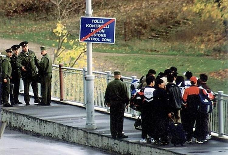 Граница с Эстонией прошла через судьбы многих людей.