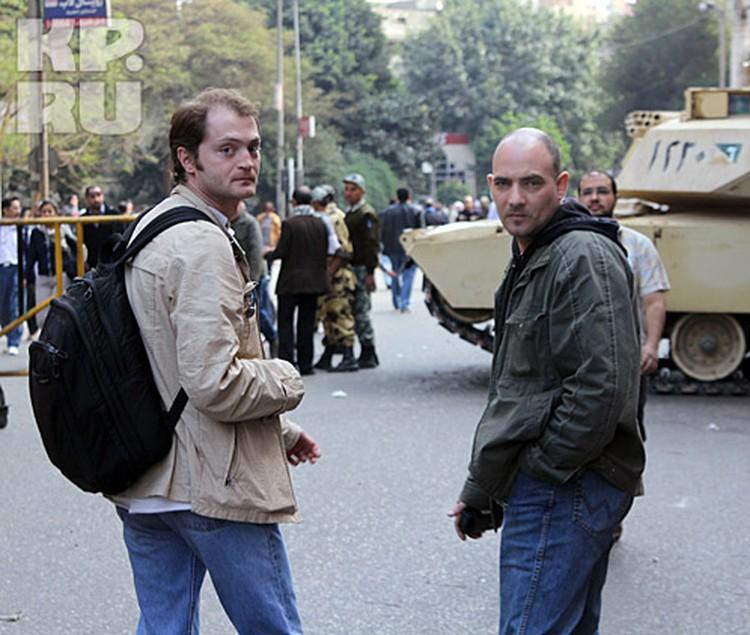 Александр Коц(слева) и Дмитрий Стешин находятся в плену