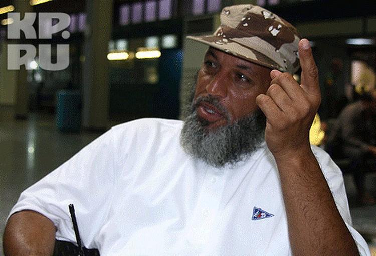 Комендант аэропорта капитан Абдульхаким Абдульгадар