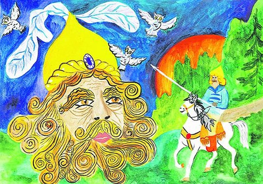 Картинки к поэме руслан и людмила песнь первая сузить круг