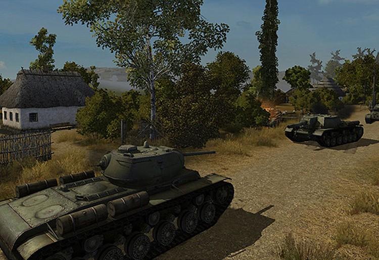 Сейчас в игре реализовано около 150 моделей разных танков: советских, немецких, французских, американских.