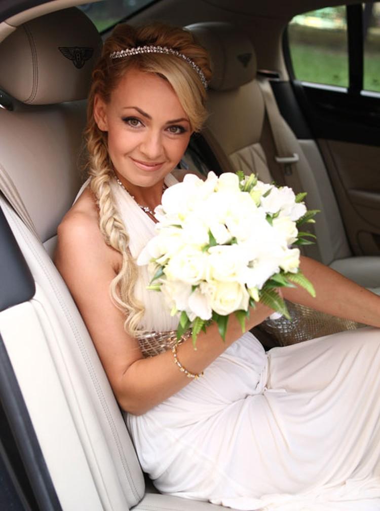 Сентябрь 2009 года. Яна вышла замуж за Плющенко.