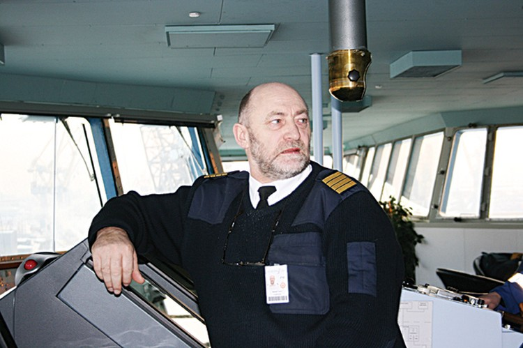 Капитан Рудольф Таттер.