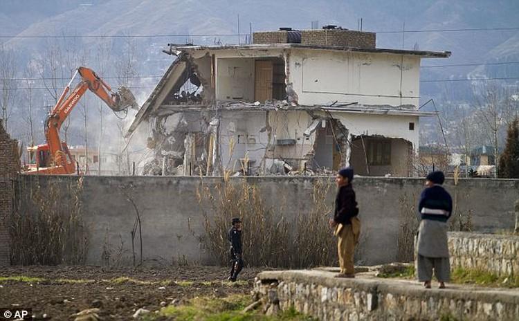 Последний приют бен Ладена сравняли с лицом земли