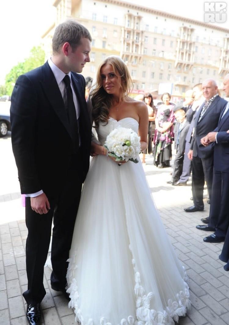 Сергей Бондарчук с женой Татианой Мамиашвили.