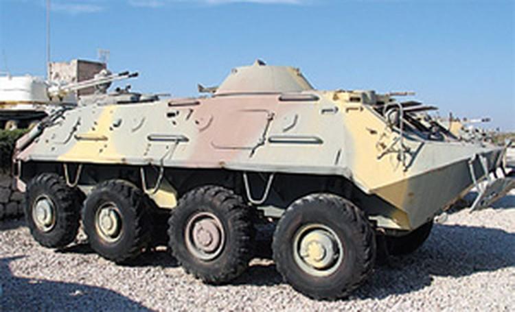 Бронетранспортер БТР-60.