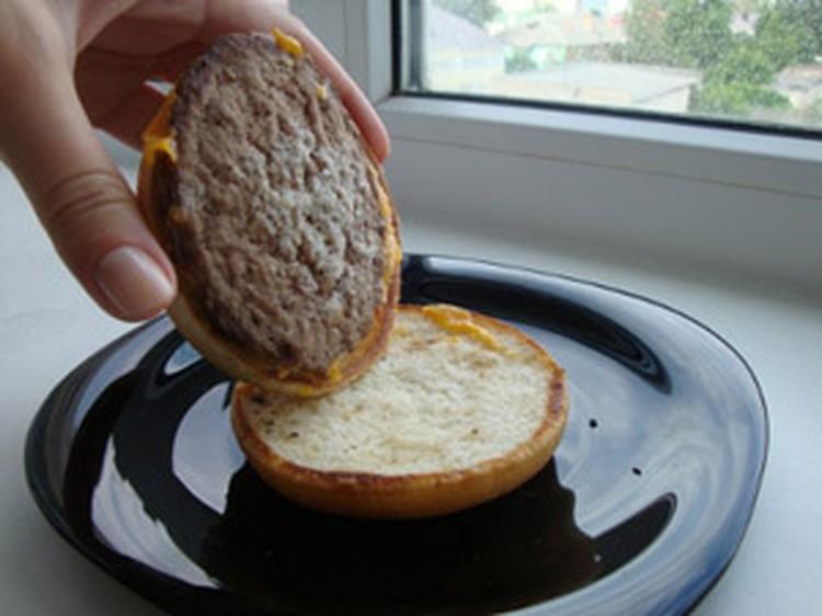 Выяснилось, что над некоторыми ингридиентами чизбургера время не властно…