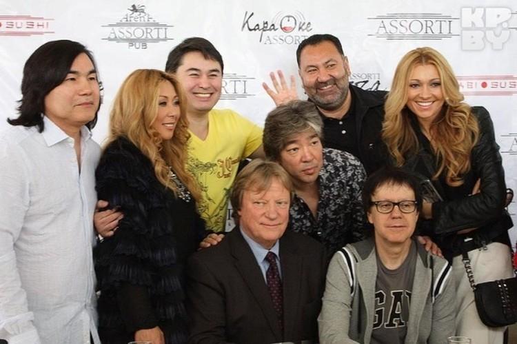 В Казахстане среди артистов Лика уже как свой человек