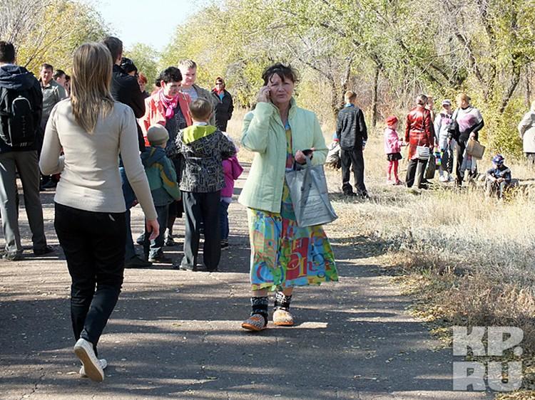Жители выбегали из домов, толком не одевшись