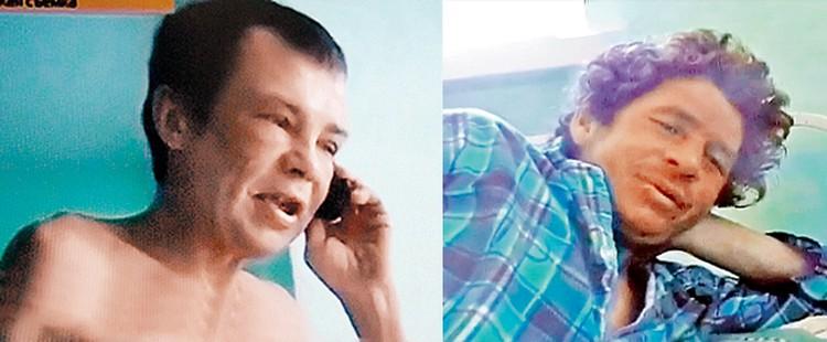 Выжившие Алексей Горуленко (слева) и Александр Абдуллаев долго не признавались, почему не просили помощи, хотя такая возможность была.