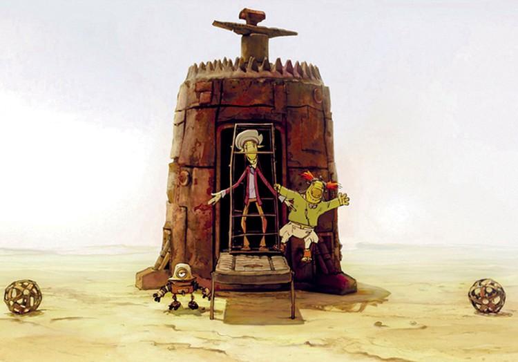 Вот так в мультике выглядят пацак и чатланин, которых в фильме играли Юрий Яковлев и Евгений Леонов