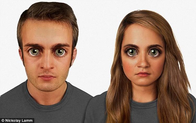 Люди через 100 тысяч лет