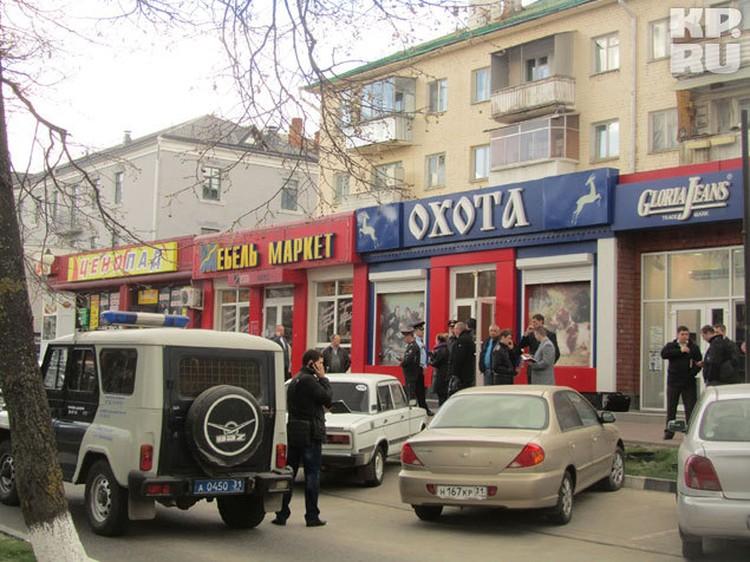 В магазине «Охота» Сергей Помазун расстрелял двоих продавцов и посетителя.