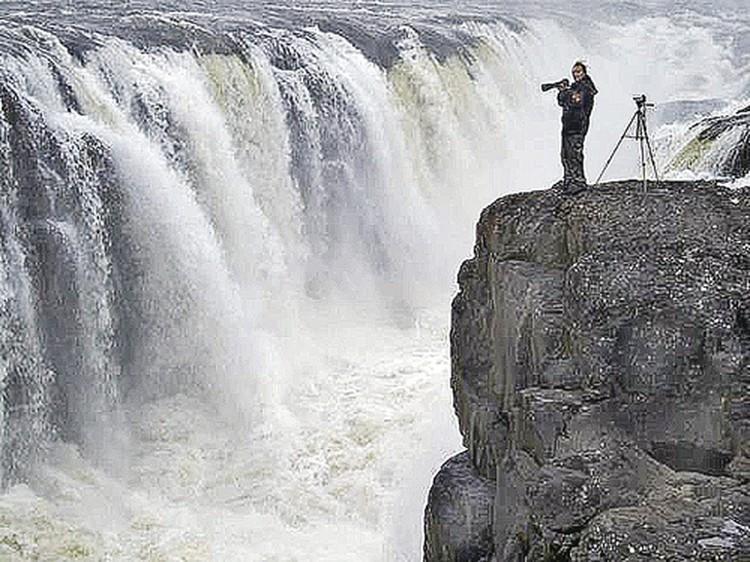 Красивейший Большой Курейский водопад Владимир Коваль снимал много раз,  но мечта была - дойти до Бельдунчанского.