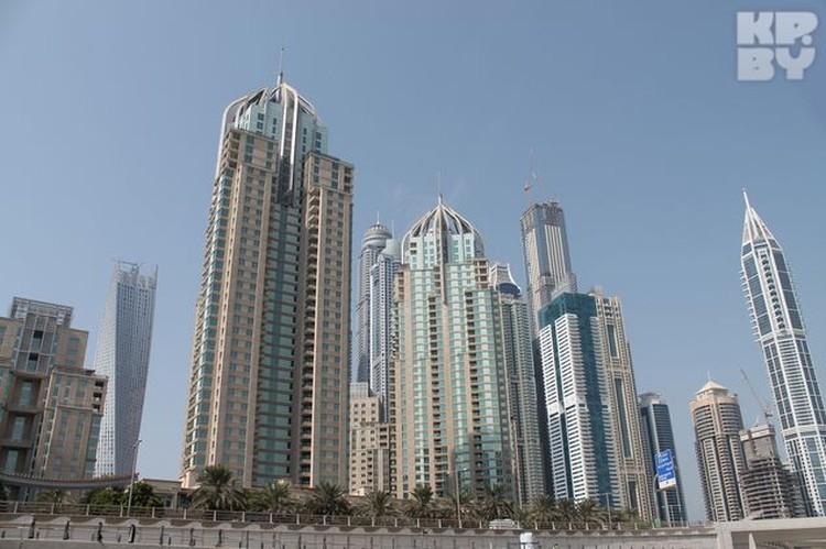 Небоскребы в Дубае впечатляют своей интересной формой
