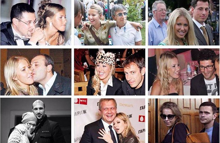 Тина опубликовала в своей социальной сети список экс-любовников светской львицы Ксении Собчак