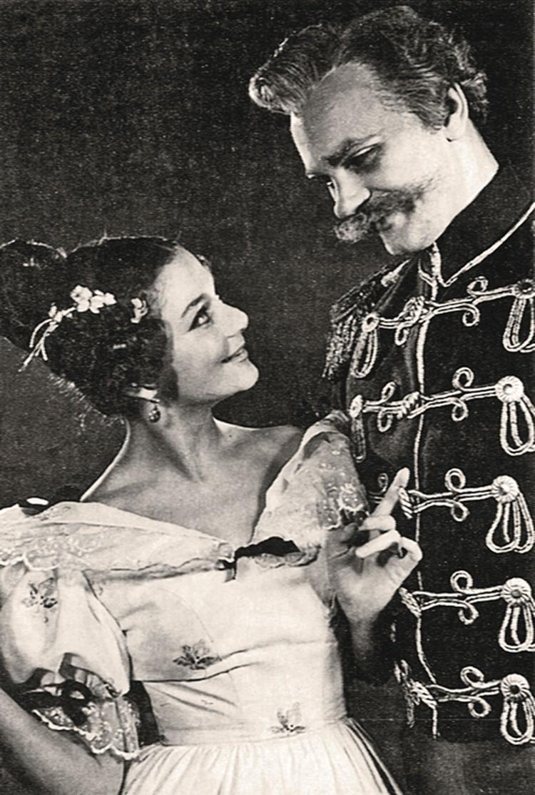 Со второй женой Катей Райкиной.