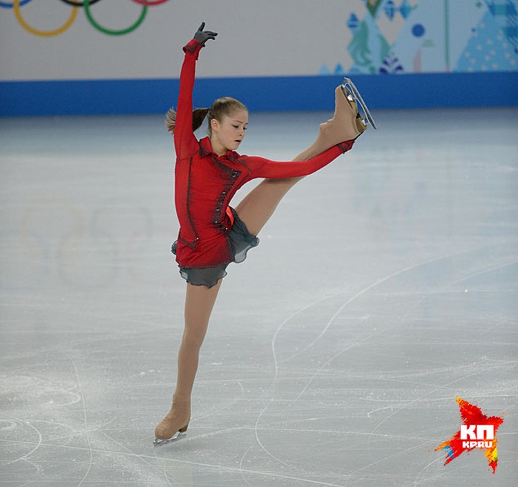Сейчас все очарованы Юлей Липницкой