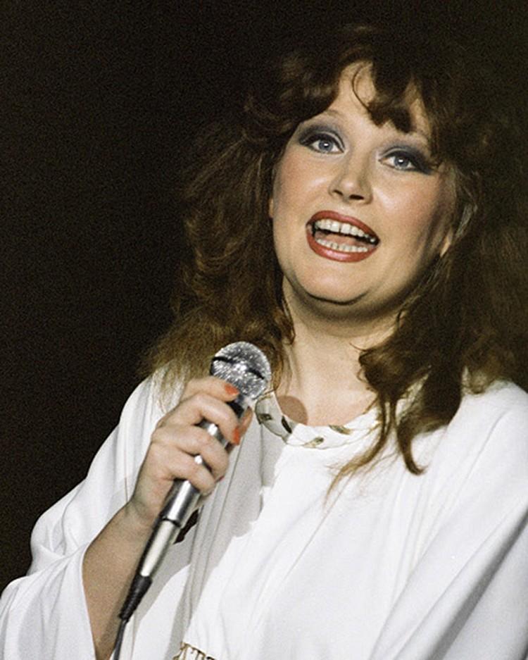 Примадонна в 1985 году.