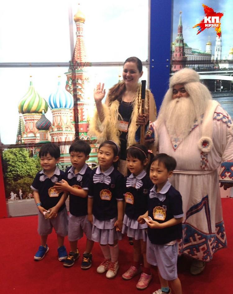 Ямальский Дед Мороз теперь войдет в корейский фольклор