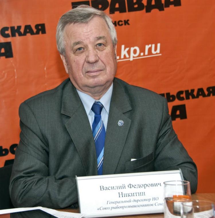 Василий Никитин, генеральный директор Союза рыбопромышленников Севера