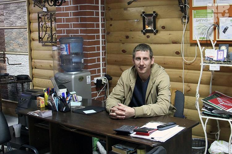 Сергей Демченко выучился на кузнеца и открыл собственную кузницу.