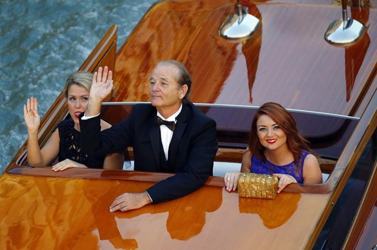 Билл Мюррей - среди гостей свадьбы.