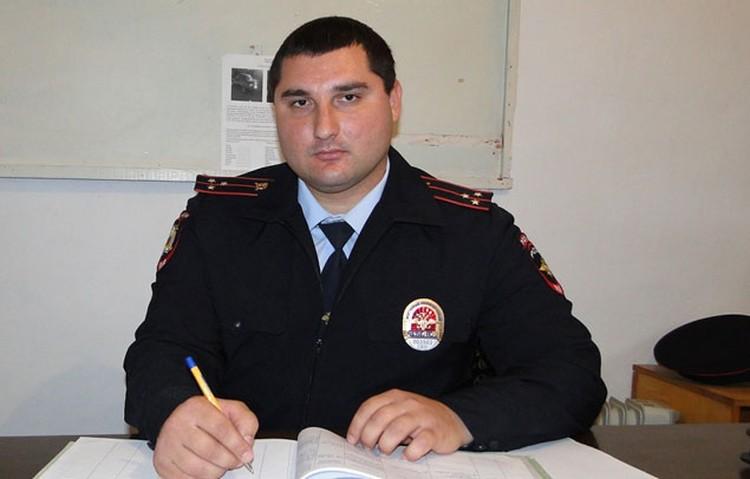 Беслан САЛБИЕВ (фото:пресс-служба ГУ МВД по Северной Осетии)