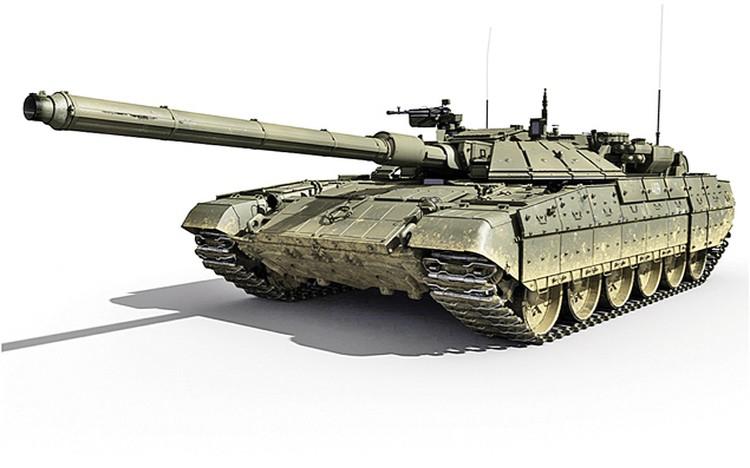 Так, возможно, будет выглядеть новый российский танк. Фото: wikimedia.org