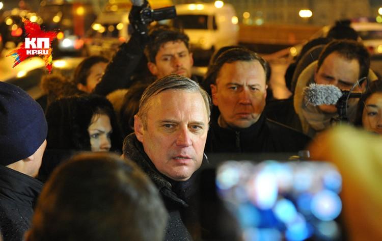 Михаил Касьянов приехал на место преступления одним из первых