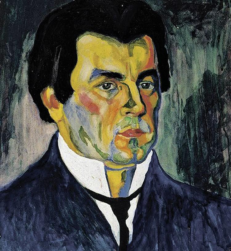 Автор «Черного квадрата» Казимир Малевич и не подозревал, что станет источником дохода мошенников. Фото: автопортрет.