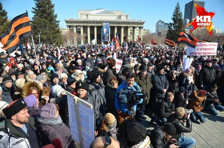 Всего в митинге приняли участие несколько тысяч человек. Впрочем, в своем Твиттере Николай Валуев посчитал, что пришедших было не меньше 10 тысяч.